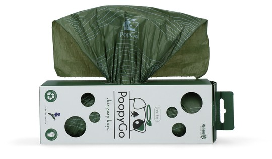 PoopyGo 300 umweltfreundliche Kotbeutel