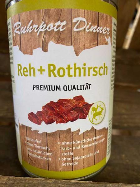 Ruhrpott Dinner Reh + Rothirsch 400g