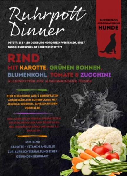 Ruhrpott Dinner Superfood Rind