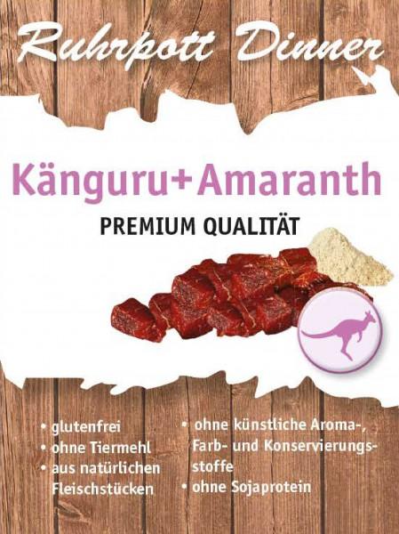 Ruhrpott Dinner Känguru + Amaranth