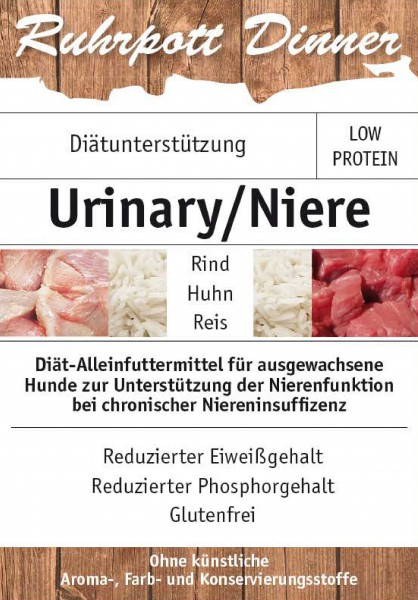 Ruhrpott Dinner Diät Urinary Niere
