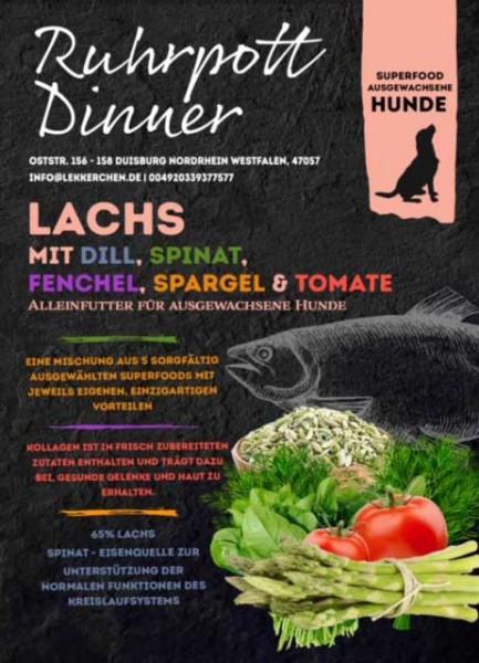 Ruhrpott Dinner Superfood Lachs