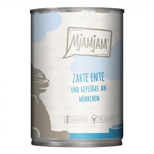 MjAMjAM - zarte Ente & Geflügel an leckeren Möhrchen