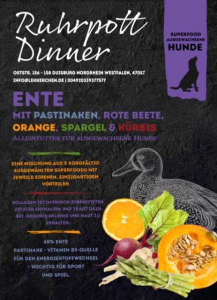 Ruhrpott Dinner Superfood Ente