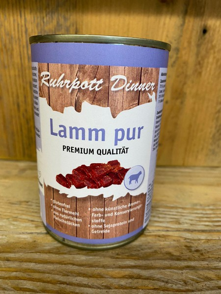 Ruhrpott Dinner Lamm pur 400g