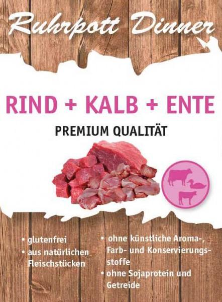 Ruhrpott Dinner Rind + Kalb + Ente