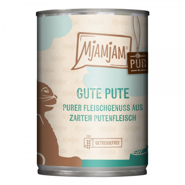 MjAMjAM - Purer Fleischgenuss – gute Pute pur